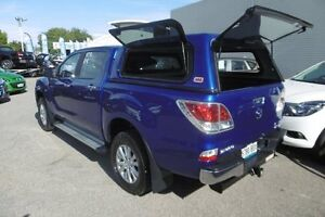 2013 Mazda BT-50 UP0YF1 XTR Blue 6 Speed Sports Automatic Utility West Hindmarsh Charles Sturt Area Preview