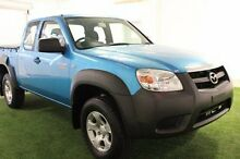 2010 Mazda BT-50  Blue Manual Utility Moonah Glenorchy Area Preview