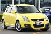 2008 Suzuki Swift RS416 Sport Yellow 5 Speed Manual Hatchback Wavell Heights Brisbane North East Preview