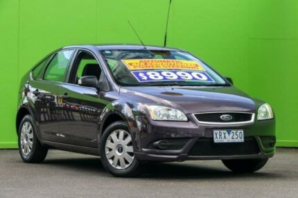 2008 Ford Focus LT LX Purple 4 Speed Sports Automatic Hatchback Ringwood East Maroondah Area Preview