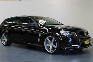 2014 Holden Commodore VF MY14 SS - Storm Black 6 Speed Sports Automatic Wagon Hamilton East Newcastle Area Preview
