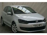 2013 Volkswagen Polo 1.2 MATCH 3d 59 BHP Petrol silver Manual