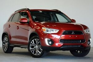 2016 Mitsubishi ASX XB MY15.5 LS (2WD) Red Continuous Variable Wagon Coopers Plains Brisbane South West Preview