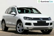 2014 Volkswagen Touareg 7P MY14 V6 TDI Tiptronic 4XMotion White 8 Speed Sports Automatic Wagon Osborne Park Stirling Area Preview