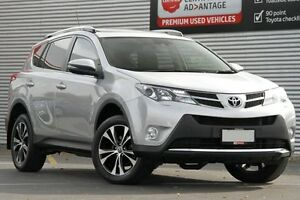 2014 Toyota RAV4 ASA44R MY14 Cruiser AWD Silver Pearl 6 Speed Sports Automatic Wagon Adelaide CBD Adelaide City Preview