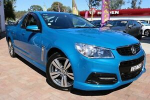 2013 Holden Ute VF SV6 Blue 6 Speed Manual Utility Campbelltown Campbelltown Area Preview