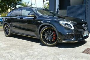 2017 Mercedes-Benz GLA-Class X156 808MY GLA45 AMG SPEEDSHIFT DCT 4MATIC Black 7 Speed Ashmore Gold Coast City Preview