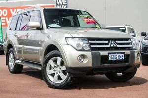 2008 Mitsubishi Pajero NS VR-X Gold 5 Speed Sports Automatic Wagon Cannington Canning Area Preview