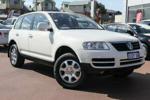 2007 Volkswagen Touareg 7L MY07 V6 FSI 4XMOTION White 6 Speed Sports Automatic Wagon Clarkson Wanneroo Area Preview