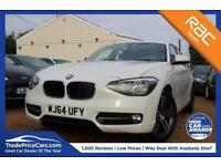 2014 64 BMW 1 SERIES 2.0 116D SPORT 5D AUTO 114 BHP DIESEL