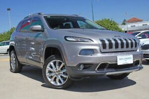2015 Jeep Cherokee KL MY15 Limited (4x4) Grey 9 Speed Automatic Wagon Victoria Park Victoria Park Area Preview