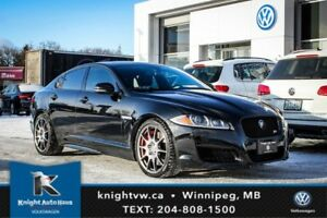 2012 Jaguar XF XFR w/ Navigation/Winter + Summer Tires And Rims/