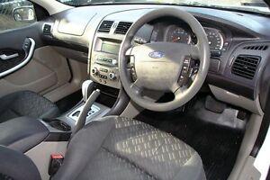 2007 Ford Falcon BF MkII XL White 4 Speed Auto Seq Sportshift Utility Briar Hill Banyule Area Preview