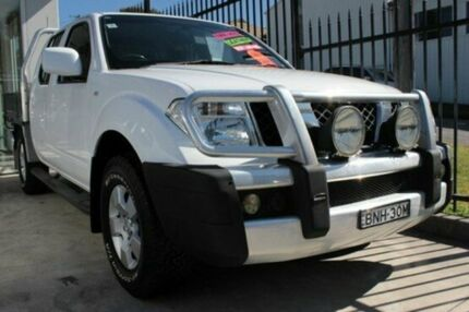 2010 Nissan Navara D40 ST (4x4) White 6 Speed Manual Utility East Maitland Maitland Area Preview