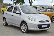2012 Nissan Micra K13 ST Silver 5 Speed Manual Hatchback Wangara Wanneroo Area Preview