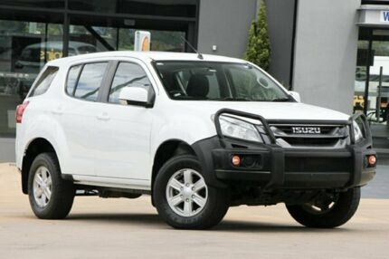 2014 Isuzu MU-X MY14 LS-M Rev-Tronic White 5 Speed Sports Automatic Wagon Moorooka Brisbane South West Preview