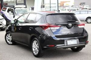 2016 Toyota Corolla ZRE182R SX S-CVT Black 7 Speed Constant Variable Hatchback