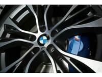 "SET OF 4 X BMW 22"" PERFORMANCE STYLE ALLOY WHEELS BMW X3 X5 X6 RANGE ROVER VW T5 ETC....."