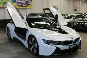 2015 BMW i8 I12 White 6 Speed Automatic Coupe Hybrid Southbank Melbourne City Preview