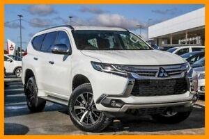 2018 Mitsubishi Pajero Sport QE MY18 GLS Solid White 8 Speed Sports Automatic Wagon Aspley Brisbane North East Preview