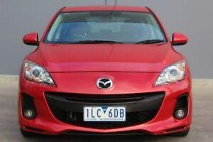 2012 Mazda 3 BL10C2 MZR-CD Red 6 Speed Manual Hatchback