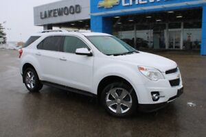 2013 Chevrolet Equinox LTZ (AWD, Lane Departure Warning and Forw