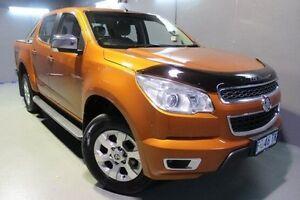 2015 Holden Colorado RG MY15 LTZ Crew Cab Orange 6 Speed Sports Automatic Utility Invermay Launceston Area Preview