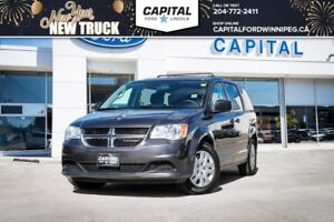 2016 Dodge Grand Caravan SXT+ **Power Drivers Seat-Stow N' Go**