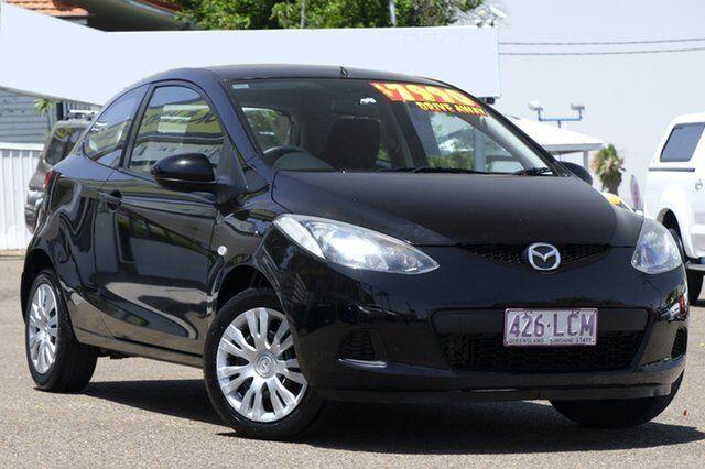 2008 mazda 2 de10y1 neo black 5 speed manual hatchback | cars, vans