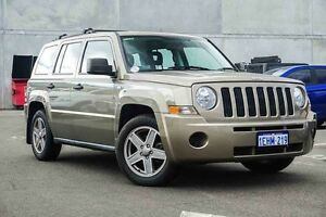 2009 Jeep Patriot MK MY2009 Sport Gold 6 Speed Manual Wagon Osborne Park Stirling Area Preview