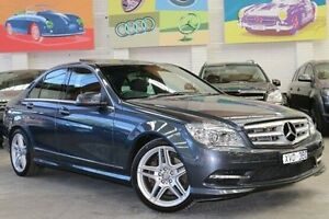 2010 Mercedes-Benz C300 W204 MY10 Avantgarde 7G-Tronic Grey 7 Speed Sports Automatic Sedan Southbank Melbourne City Preview