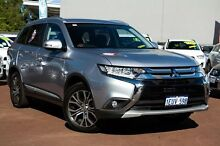 2015 Mitsubishi Outlander ZK MY16 LS 2WD Silver 6 Speed Constant Variable Wagon Cannington Canning Area Preview