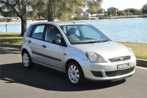 2008 Ford Fiesta WQ LX Silver 4 Speed Automatic Hatchback Five Dock Canada Bay Area Preview