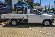 2008 Toyota Hilux TGN16R MY08 Workmate 4x2 White 5 Speed Manual Cab Chassis Morley Bayswater Area Preview