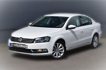 2013 Volkswagen Passat Type 3C MY14 118TSI DSG White 7 Speed Sports Automatic Dual Clutch Sedan Berwick Casey Area Preview