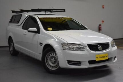2012 Holden Ute VE II MY12 Omega White 6 Speed Sports Automatic Utility Brooklyn Brimbank Area Preview
