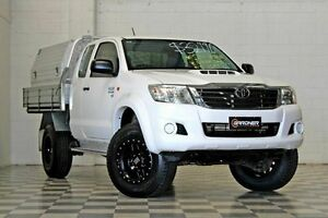 2011 Toyota Hilux KUN26R SR White 5 Speed Manual Extracab Burleigh Heads Gold Coast South Preview