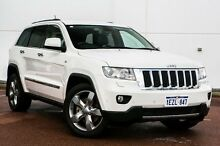 2012 Jeep Grand Cherokee WK MY2012 Limited White 5 Speed Sports Automatic Wagon Wangara Wanneroo Area Preview