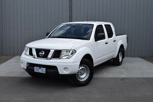 2012 Nissan Navara D40 S6 MY12 RX 4x2 White 5 Speed Automatic Utility Invermay Launceston Area Preview
