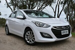 2014 Hyundai i30 GD2 Active White 6 Speed Sports Automatic Hatchback St Marys Mitcham Area Preview