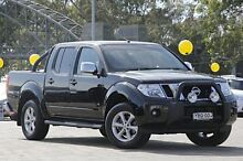2012 Nissan Navara D40 S5 MY12 ST-X Blackline Black 7 Speed Auto Seq Sportshift Utility Warwick Farm Liverpool Area Preview