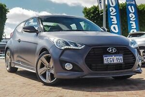 2013 Hyundai Veloster FS2 SR Coupe Turbo Grey 6 Speed Sports Automatic Hatchback Embleton Bayswater Area Preview