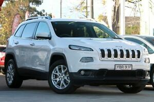 2014 Jeep Cherokee KL Longitude (4x4) White 9 Speed Automatic Wagon Waitara Hornsby Area Preview