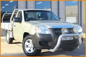2007 Mazda BT-50 B2500 DX Gold 5 Speed Manual Cab Chassis Blacktown Blacktown Area Preview