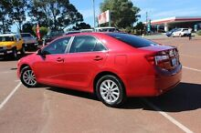 2013 Toyota Camry ASV50R Altise Red 6 Speed Sports Automatic Sedan Balcatta Stirling Area Preview