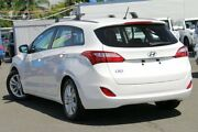 2014 Hyundai i30 GD Active Tourer White 6 Speed Sports Automatic Wagon Nundah Brisbane North East Preview