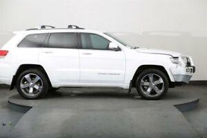 2014 Jeep Grand Cherokee WK MY14 Overland (4x4) White 8 Speed Automatic Wagon