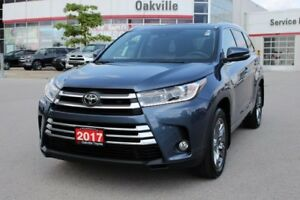 2017 Toyota Highlander Limited w/Navigation, Blind Spot Monitori