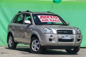 2007 Hyundai Tucson MY07 City SX Silver 4 Speed Sports Automatic Wagon Ringwood East Maroondah Area Preview