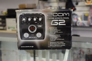 Zoom G2 Guitar Multi-Effects Pedal*